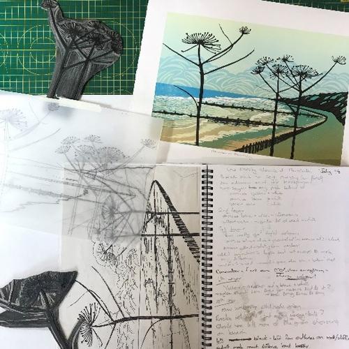 Soft Cut Linoleum Set 2 x 3 10 Pack Printmaking Carving sheet Block Printing sheets Art Studio Class Pack Easy to Carve Wonder Plate